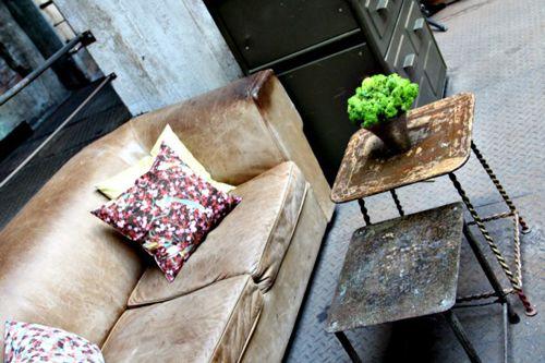 Detalle del mobiliario de La Soupe Populaire