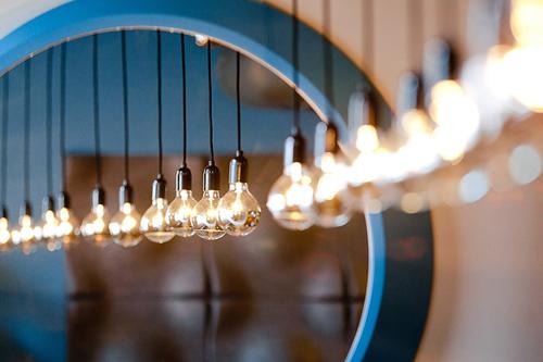 Iluminación del restaurante Zig Zag