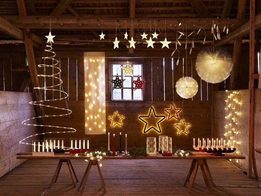 Iluminación navideña para tu hogar