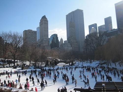 Pistas de patinaje al aire libre