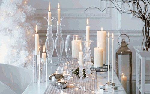Velas iluminación Navidad