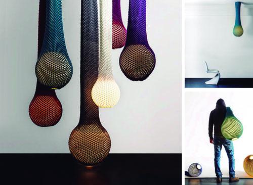 Zuckerman lámparas de punto y color