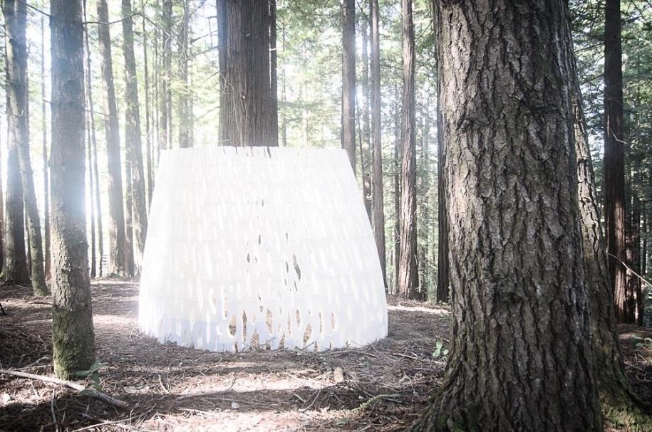 Primera estructura arquitectónica impresa en 3D