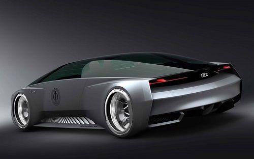Coche de ciencia ficción de Audi 02