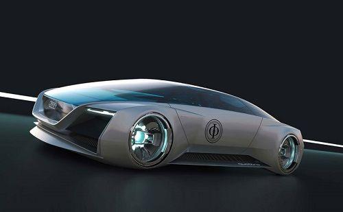 Coche de ciencia ficción de Audi