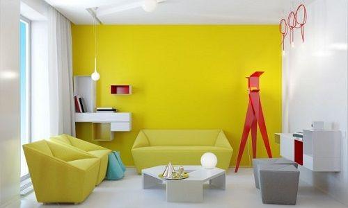Decoración con amarillo 05