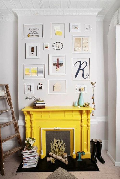Decoración con amarillo 13