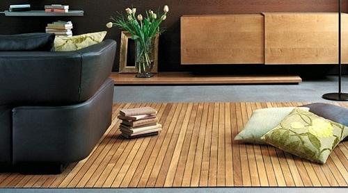 Decoración con suelos de madera 12