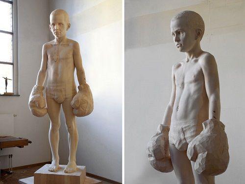 Esculturas de madera por Mario Dilitz 05