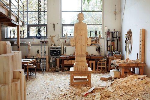 Esculturas de madera por Mario Dilitz 08