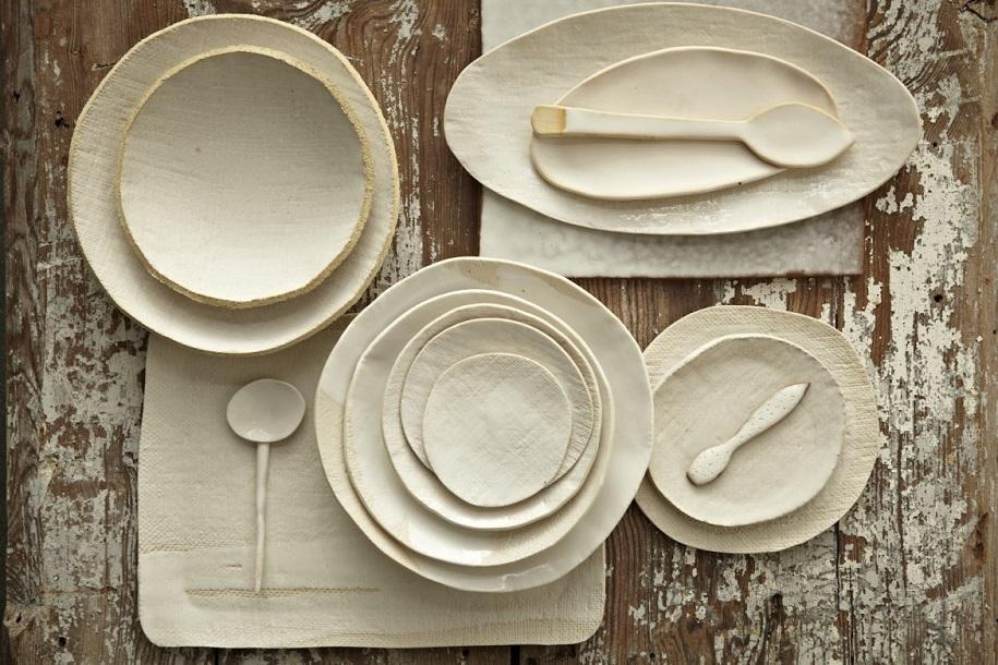 Todo sabe mejor con vajillas de cerámica diseñadas al detalle