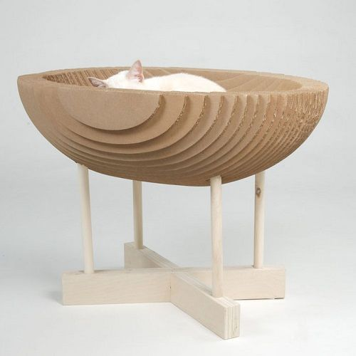Muebles fabricados con cartón 11