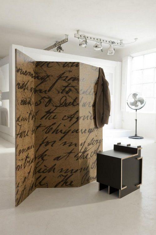 Muebles fabricados con cartón 20