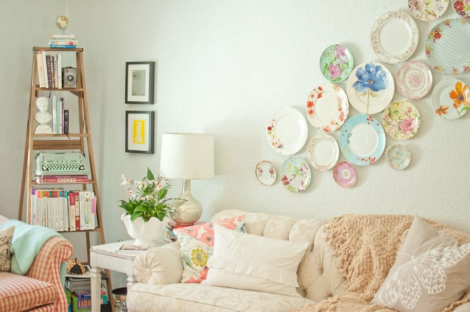 Decoración con collages de objetos ¡Originalidad a raudales!