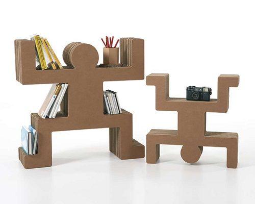 Mobiliario de cartón 03