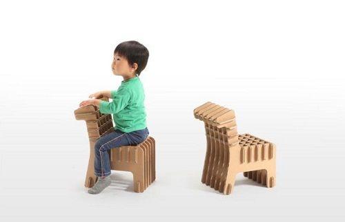 Mobiliario de cartón 09