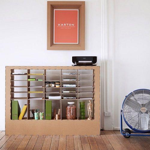 Mobiliario de cartón 10