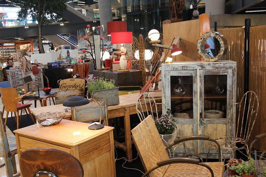 Aires primaverales en la feria vintage de Zielo Shopping