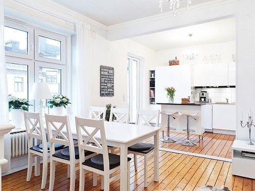 Una selecci n de cocinas n rdicas de ensue o moove magazine for Decorar un salon de 40 metros cuadrados