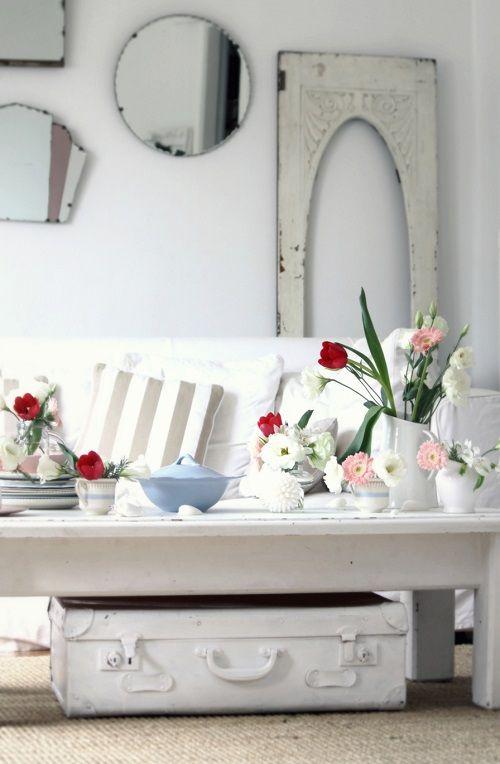 Decoración con toques florales