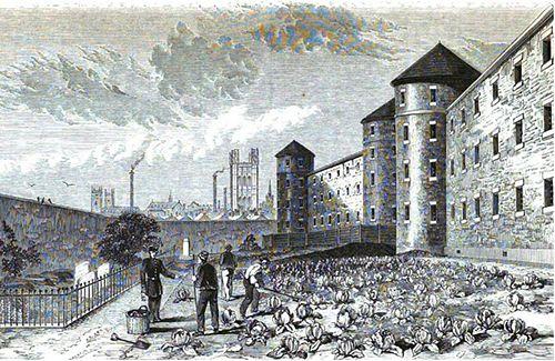 Dibujo Millbank Prison