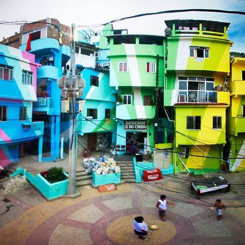 Favela Painting 03