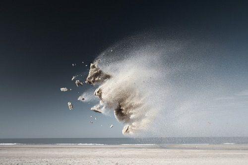 Fotografías de Claire Droppert. Cabra de arena