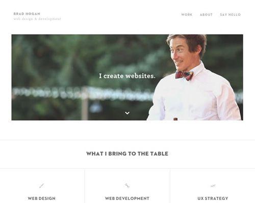 Portfolio Brad Hogan Web Designer