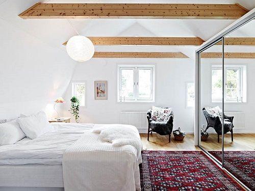 Tendencias de decoración de dormitorios 13 rústico