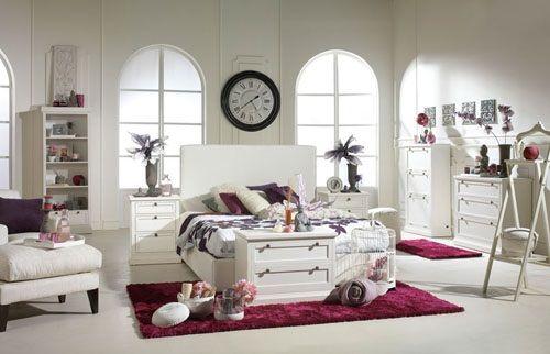 Tendencias de decoración de dormitorios 20 orquídea