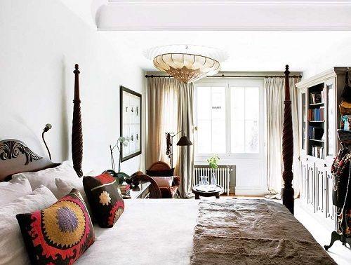 Tendencias de decoración de dormitorios 24 marroquíes