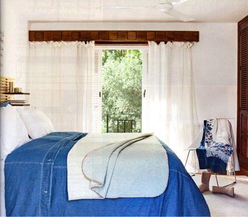 Tendencias de decoración de dormitorios 25 azul