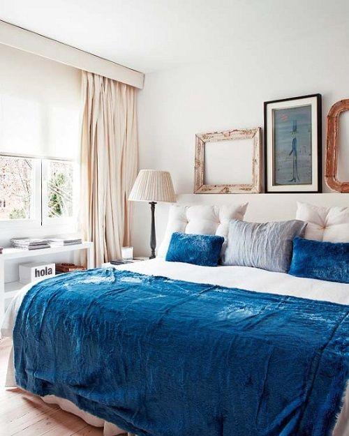 Tendencias de decoración de dormitorios 26 azul