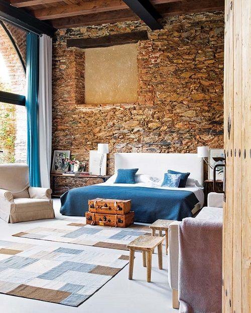 Tendencias de decoración de dormitorios 27 azul