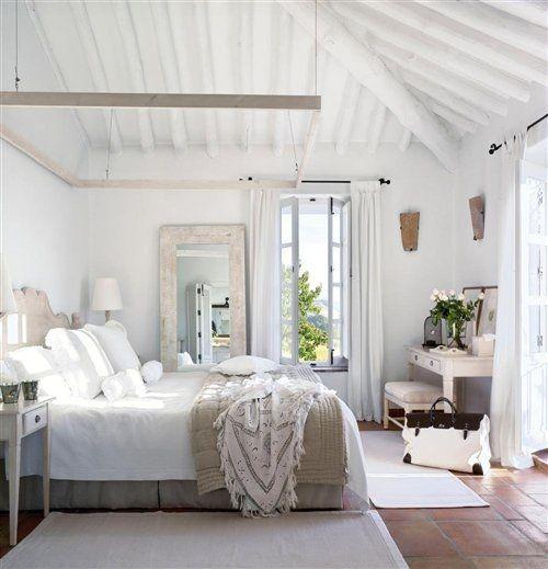 Tendencias de decoración de dormitorios 28 rústico