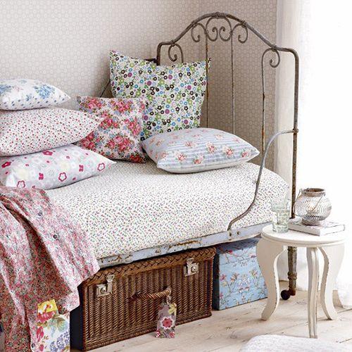 cesta y cama