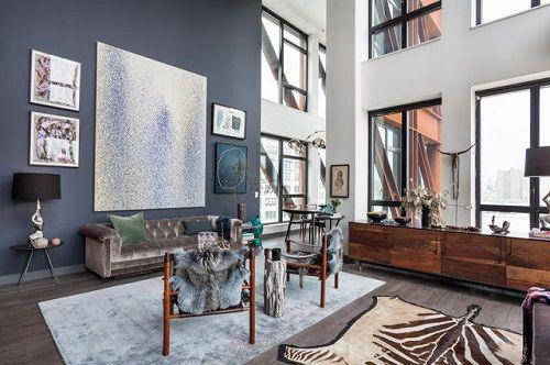 Apartamento ecléctico en Manhattan