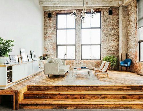 Apartamento en Brooklyn estética industrial 02