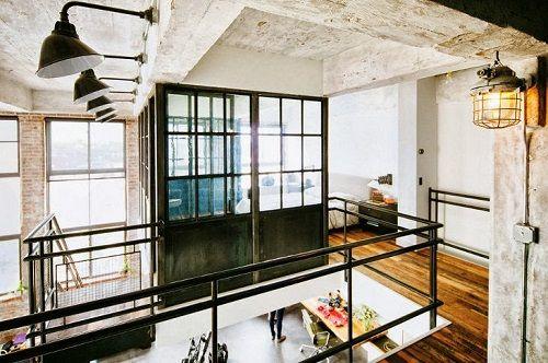 Apartamento en Brooklyn estética industrial 04