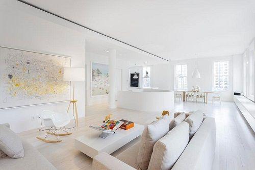 Apartamento en blanco en manhattan