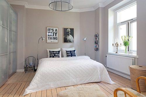 Dormitorio amplio, nórdico y luminoso