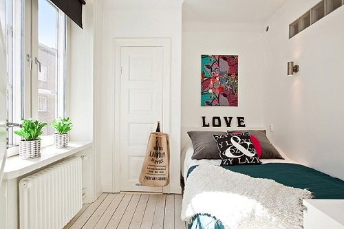 Dormitorio con aires hippies