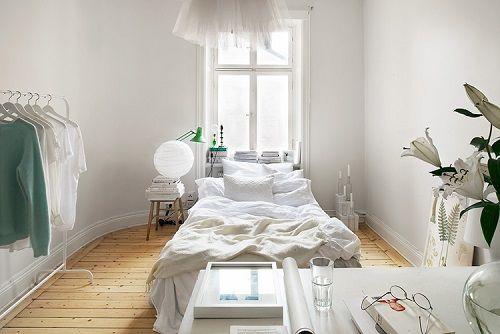 Dormitorio con estética impecable