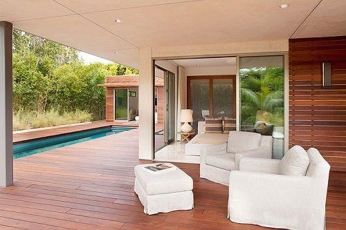 Interior de la vivienda eco-friendly