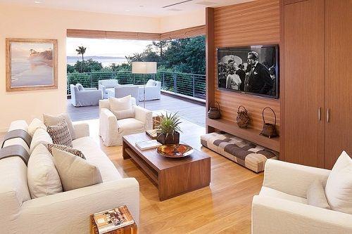 Interior decorado d ela vivienda eco-friendly