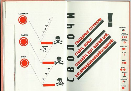 Lissitzky ilustración libro
