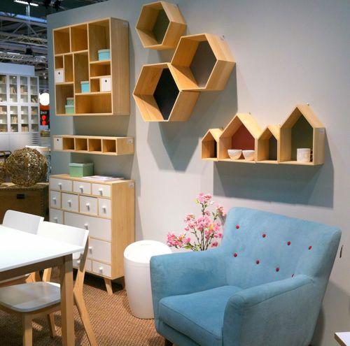 Stockholm Furniture Fair sofá azul