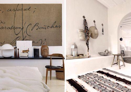 collage muebles reutilizados en madera