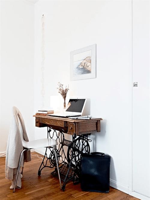 escritorio reciclado