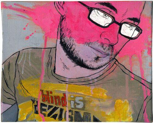 gabz retrato dibujo ilustrador